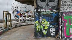 20170302 Berlin Teufelsberg NSA Abhörstation Kuppel Graffiti (106) (j.ardin) Tags: 290 deutschland germany allemagne alemania berlin charlottenburg grunewald teufelsberg altensaabhörstation formernsahearingstation radarstation rottenplaces müllberg kuppel graffiti streetart
