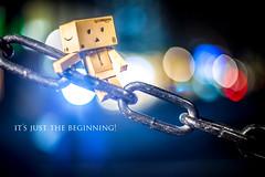 It´s just the beginning! (Martin-Klein) Tags: strobist bokeh danbo nostrobistinfo removedfromstrobistpool seerule2