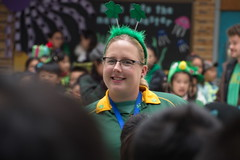 St Patrick's Day in China (johey24) Tags: china shanghai stpatricksday saintpatricksday green school teaching kids teachers expats culture people raw candid