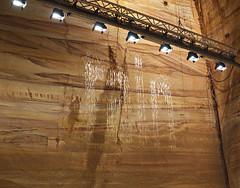 Falling water, Julius Popp (nisudapi) Tags: 017 tasmania hobart berriedale mona museum artgallery art fallingwater dripprinter popp juliuspopp rain sculpture