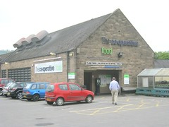 MATLOCK, CROWN SQUARE C&ERG [car park] (Crown Square, Matlock, Derbys  DE4 3AU) {NBC} May13 (Co-operative Stores) Tags: derbyshire coop matlock 2013