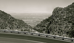 Highway 89a North (redrock flyer) Tags: arizona bw blackwhite jerome prescott verdevalley jeromearizona