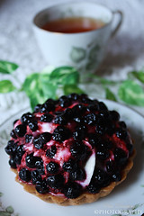 Food Fashion (Elin.Damberg) Tags: food fashion cake tea blueberry