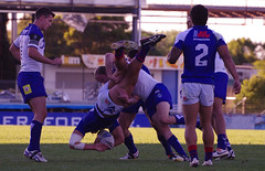 SPEAR TACKLE (NAPARAZZI) Tags: tackle spear
