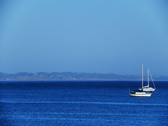 Serene waters (tarczyn) Tags: california usa santacruz nikon sailing coolpixp100