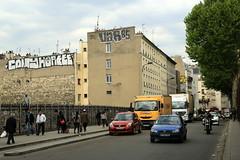cony horfee var85 (Luna Park) Tags: paris france rooftop graffiti traffic lunapark rollers pal cony var85 horfe horphe horfee