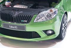 DSC07376 (mirekstrnad) Tags: brno rs autosalon fabiaii skoda zelena