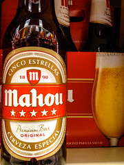 Mahou Cinco Estrellas Pale Lager - Madrid Spain (mbell1975) Tags: madrid beer star virginia spain unitedstates 5 five pale spanish estrellas cinco bier fairfax mahou 5star lager