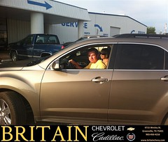Thank you to Tracey Caver on the 2012 Chevrolet Equinox from Branden Chambers and everyone at Britain Chevrolet Cadillac! (britainchevrolet) Tags: new chevrolet car sedan truck happy dallas texas allen britain tx pickup cadillac used vehicles chevy bday dfw plano van minivan suv coupe greenville dealership frisco mckinney shoutouts dealer customers metroplex preowned