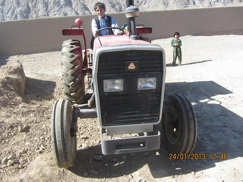 Four-Wheel Tractor Distributed in Shah-Wali-Kot District