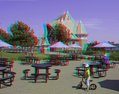 Lake Harriet Bandshell (Anaglyph 3D) (patrick.swinnea) Tags: minnesota stereoscopic stereophoto 3d sony minneapolis a55 a55v