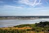 Chirstchurch Harbour, Dorset (**Anik Messier**) Tags: uk christchurch england sky clouds landscape aerialview shore dorset hengistburyhead christchurchharbour coastuk welcomeuk