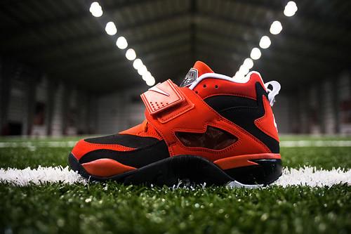 Nike Air Diamond Turf Challenge Red Colorway Deion Sanders