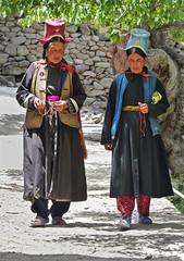 P1020606 Ritual clock-wise-only walk; Alchi.  PS  (peteshep) Tags: india buddhist traditional ps ladakh alchi circumambulate peteshep copyrightphoto chhoskhor fz200 ritualclockwiseonlywalk choskor langenlat34223961lon77175516z18mbsearchalchi