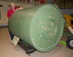 UPKEEP (Light Collector) Tags: ontario canada museum display hamilton replica bomb ww11 upkeep canadianwarplaneheritagemuseum