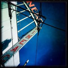 XXX Cine (bmrg) Tags: street red holland amsterdam lomo cine cables xxx lomofake hipstamatic