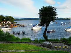 Balmaha Scotland (Vijay_ktyely) Tags: lake scotland boat loch lomond balmaha