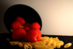 #56 Raw materials (mana58) Tags: red food fruit tomato pasta
