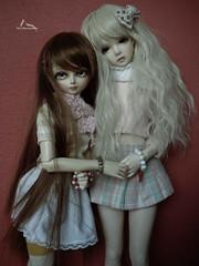 Loren & Luna (Tay Mura) Tags: doll amy soo jid minifee iplehouse