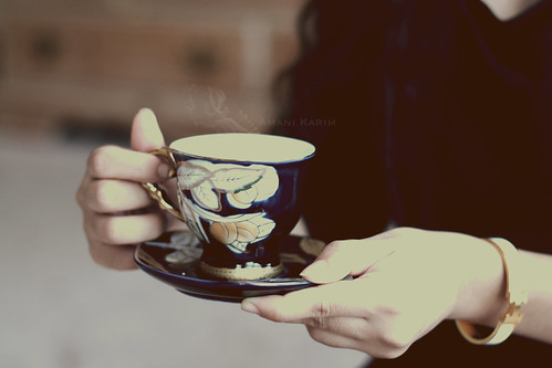 Cup of tea ..~* by Amani Karim, on Flickr
