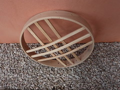 "Small Yurt Wheel • <a style=""font-size:0.8em;"" href=""http://www.flickr.com/photos/61957374@N08/9895019515/"" target=""_blank"">View on Flickr</a>"