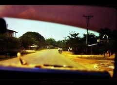 LAOS On The Road To Vientiane II (Walter Vermeulen aka Old76 MIA) Tags: photomanipulation orient laos vientiane postcardart rurallife vintageart fareasttravels laovillages