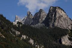 Berge ob Zweilütschinen in den Alpen - Alps im Berner Oberland im Kanton Bern der Schweiz (chrchr_75) Tags: oktober schweiz switzerland suisse swiss christoph svizzera 1310 suissa chrigu 2013 kantonbern chrchr hurni chrchr75 chriguhurni chriguhurnibluemailch hurni131013 albumzzzz131013ausflugkleinescheidegg