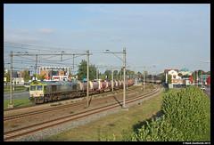 Captrain 6603 + Hoyer, Rijssen 18-10-2013 (Henk Zwoferink) Tags: station tank 66 class henk hoyer rijssen containertrein zwoferink captrain