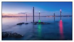 Hafeneinfahrt Altnau II (DAfotografie) Tags: luz schweiz herbst bodensee langzeitbelichtung thurgau 2013 lichtstimmung altnau