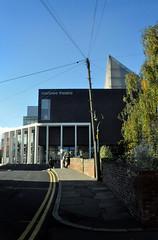 // Canterbury \\\ Marlowe Theatre (jihro) Tags: bridge graphic cables poteau fils