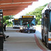 DART's Gillig buses - Rts. 109 with a bike, 112 & 113 at Dover Transit Center, Dover 6-15-12