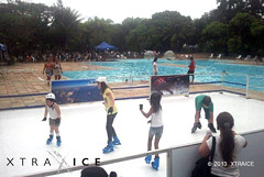 brazil ice pool rio de boards janeiro events skating fake artificial surface skaters plastic rink synthetic ecological