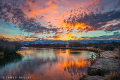 Sunrise at Cache Bridge (James Neeley) Tags: sunrise landscape idaho grandtetons tetons tetonvalley jamesneeley cachebridge b2013 lsc2014