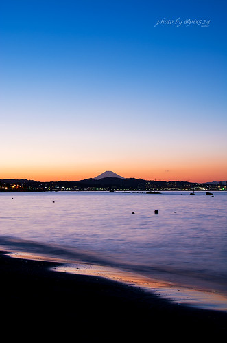 Sunset-Mt.Fuji at Yokosuka #maps524