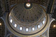 Michelangelo's Dome (Patrick Costello) Tags: italy vatican rome roma dome michelangelo lazio stpetersbasilica