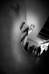 Icaro Nardi shows his vert skillz (Alberto Della Beffa) Tags: life portrait bw torino moments tour skateboarding pigeons contest culture lifestyle spot skate trick turin skatespot valdofusi sbnk respectskatespot sabink