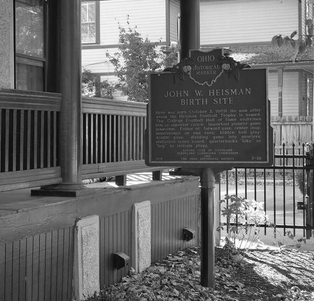 DSC_0135 Heisman Birth Site Clevelandnovember 14  2013