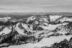 Stubai-Gletscher (Christian Kstner) Tags: travel schnee winter panorama white snow mountains alps berg austria glacier berge alpen gletscher weiss schwarz stubai luftbild weis flugbild aearial
