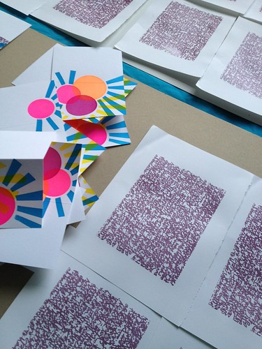 """Screenprints in progress • <a style=""""font-size:0.8em;"""" href=""""http://www.flickr.com/photos/61714195@N00/11946943913/"""" target=""""_blank"""">View on Flickr</a>"""