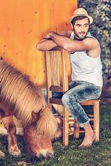 BOKURA (Celeste Martearena) Tags: male fashion model moda natura cock campaign campaa bokura