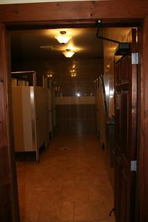 Douches du pavillon communautaire