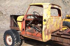 Ford rock hauler (twm1340) Tags: road arizona ford rock truck adams az jerome grader 2014 hauler 02feb2014
