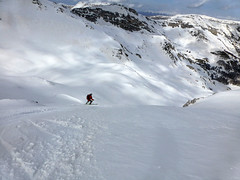 Scialpinismo Velino - Cima orientale de il Costone