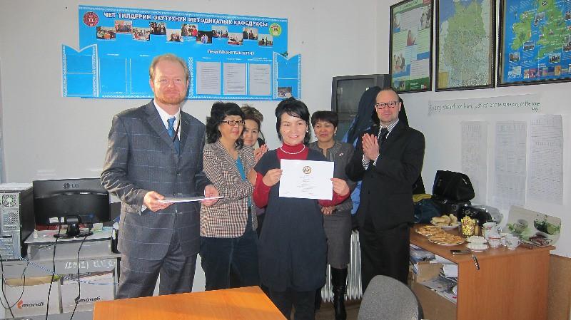 Spence - Kyrgyzstan, 2014