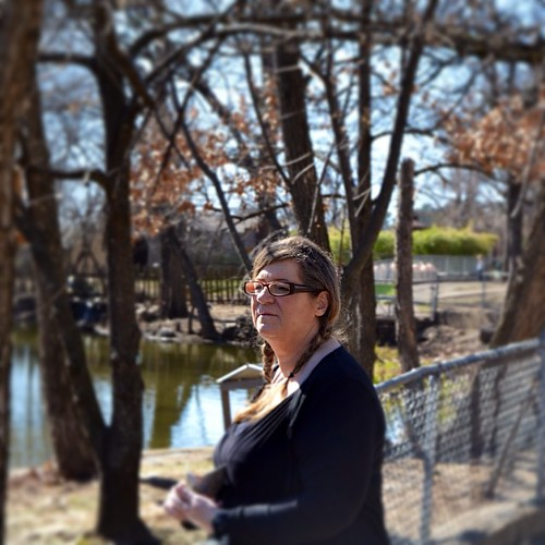 #aunt Theresa at the #littlerockzoo. #portrait #family