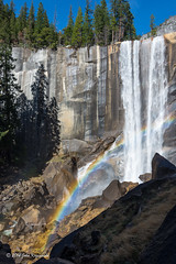 A weekend in Yosemite: Vernal Fall from the Mist Trail, with rainbow (Images by John 'K') Tags: california waterfall nationalpark nikon yosemite yosemitenationalpark 28300mm johnk d600 vernalfall yosemitepark nikond600 johnkrzesinski randomok