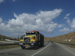 Country Road Highway Landstrae East Azerbaijan Province Iran (hn.) Tags: auto road street sky copyright cloud car clouds truck highway asia asien heiconeumeyer iran middleeast himmel wolke wolken vehicle countryroad fahrzeug lkw copyrighted laster brummi kfz lastkraftwagen strase islamicrepublicofiran mittlererosten landstrase
