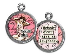 PU060- tickled pink (ToadHollowNJ) Tags: jewelry charms pickupsticks redbanknj toadhollow photocharms toadhollownjcom