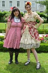 Abby & Lucie (Jadiina) Tags: grenoble meeting lolita sweetlolita princessnana meetinglolita jadiina jadiinalolita