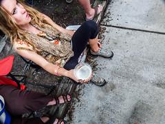 Drink (thephoenix762) Tags: people streetphotography sidewalk lookingdown streetfestival unusualangle ashevillenc haveadrink